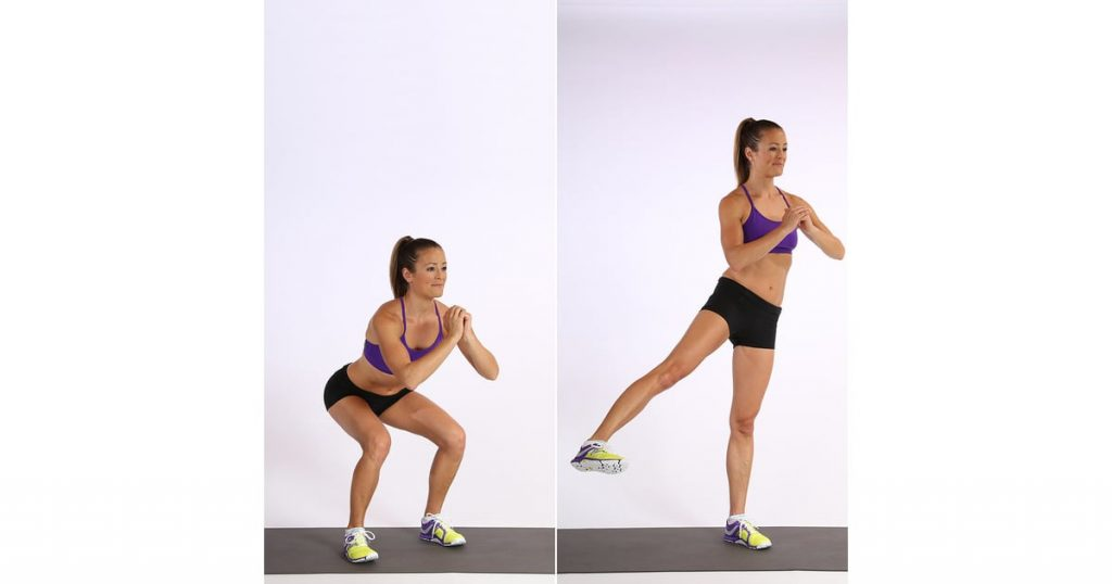 Side Step and Kick